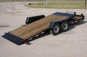Hillsboro Industries Tilt Trailer