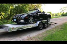 Embedded thumbnail for Hillsboro Open Car Hauler - Un-Loading Car