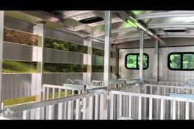 Embedded thumbnail for Hillsboro Endura Show Pen Trailer Interior Walk Around