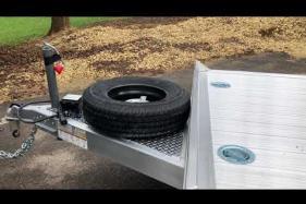 Embedded thumbnail for Hillsboro Open Car Hauler - Walk Around