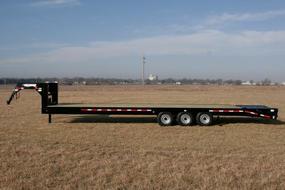 Hillsboro Industries Gooseneck Flatbed Trailer